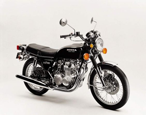 Honda CB550 Four - I've been obsessed with this bike since I saw someone riding it last