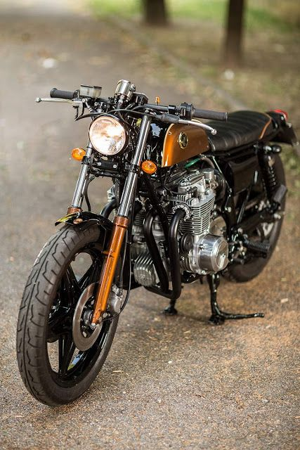 Honda CB650 Brat Style by Mr. Martini #motorcycles #bratstyle #motos |