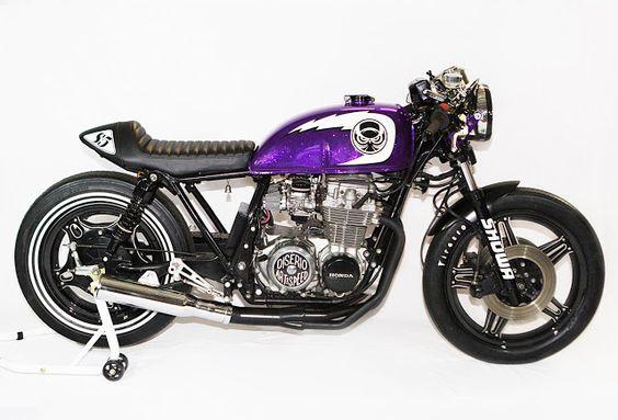 Honda CB650 Cafe Racer - Diserio Art & Speed #motorcycles #caferacer #motos |