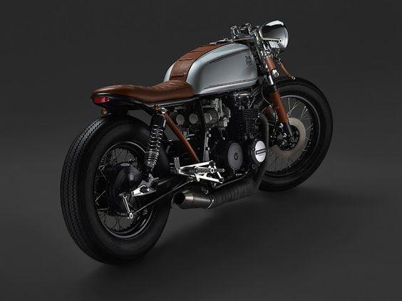 Honda CB650 Cafe Racer - Oscar Axhede - Photos by Petter Karlberg #motorcycles #caferacer #motos |