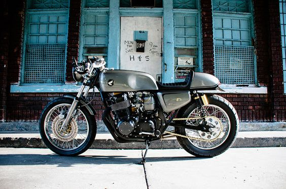 Honda CB750 Cafe Racer by KITCHEN MOTO CUSTOM - Photos by Anna Heritage #motorcycles #caferacer #motos |