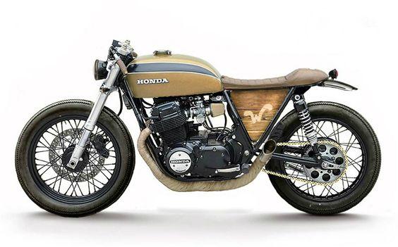 Honda CB750 Concept #caferacer | Inazuma cafe racer |