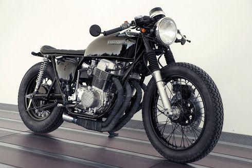 Honda CB750 'Towny' - Kickstart Garage - Inazuma Cafe Racer