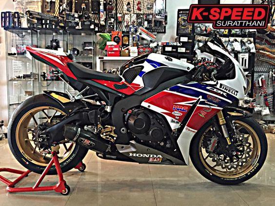 Honda CBR1000RR độ đầy chất chơi và phong cách tại Thái Lan   Show xe -