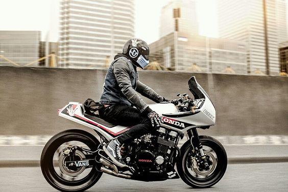 Honda CBX 750 cafe racer