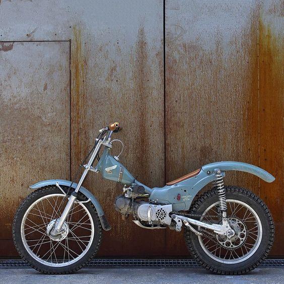 Honda Cub conversion