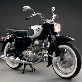 Honda Dream CA77 - Antique Street Bikes