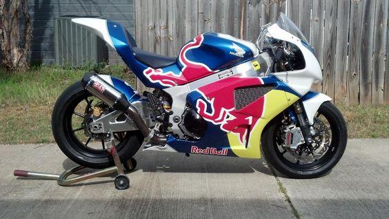 Honda RC51 GP Red Bull
