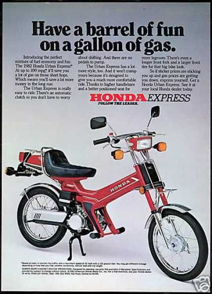 Honda Urban Express Motor Bike (USA, 1982).
