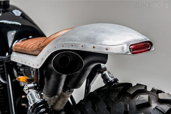 Honda XL500 'Swart Gevaar' Custom made by Los Muertos Motorcycles