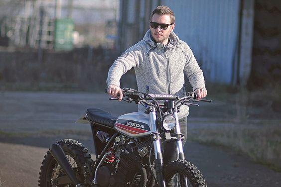 Honda XR600R Street Tracker - Dimitri Chaussinand #motorcycles #streettracker #motos |