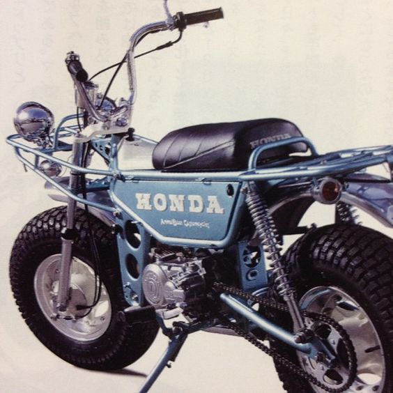 Honda Z50 trail bike