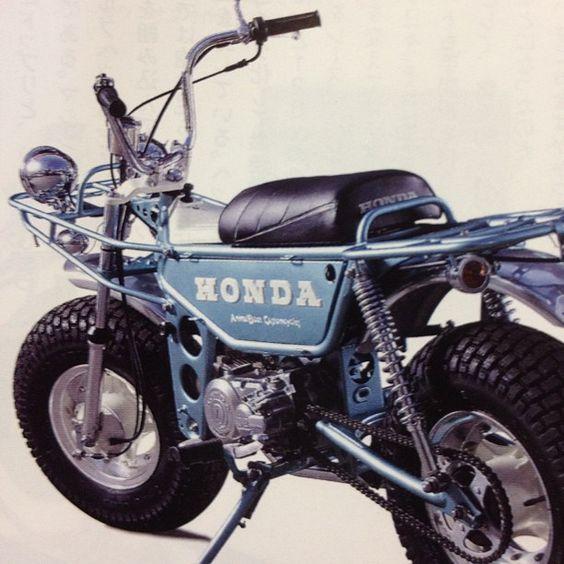 Honda Z50 trail bike
