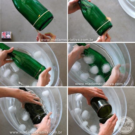 ➰❤️➰How to Cut a Wine Bottle Easily➰❤️➰