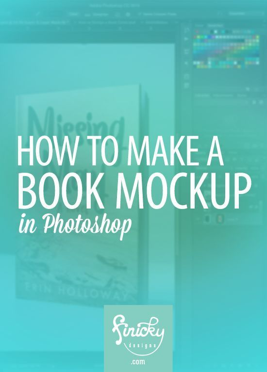 How to Make a Book Mockup in Photoshop | Finicky Designs