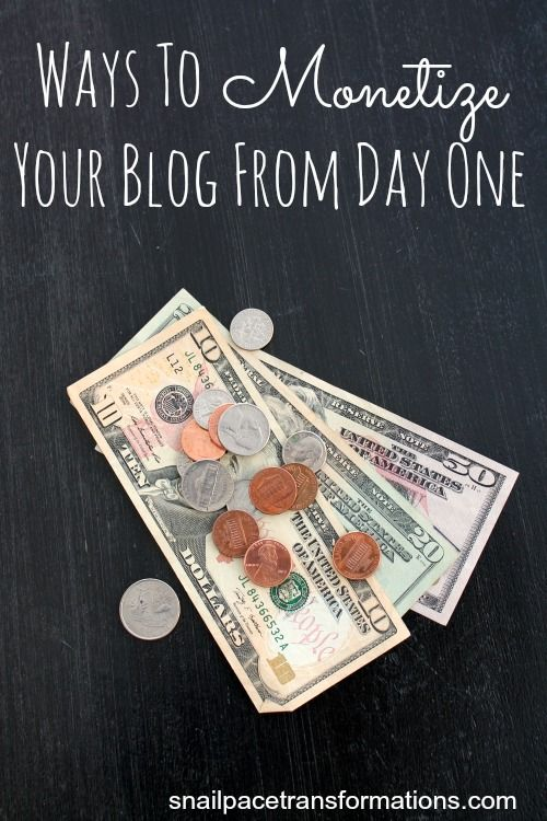 How to monetize a blog from day one, so that when traffic does begin to show up you start seeing small returns that will grow as your blog grows.