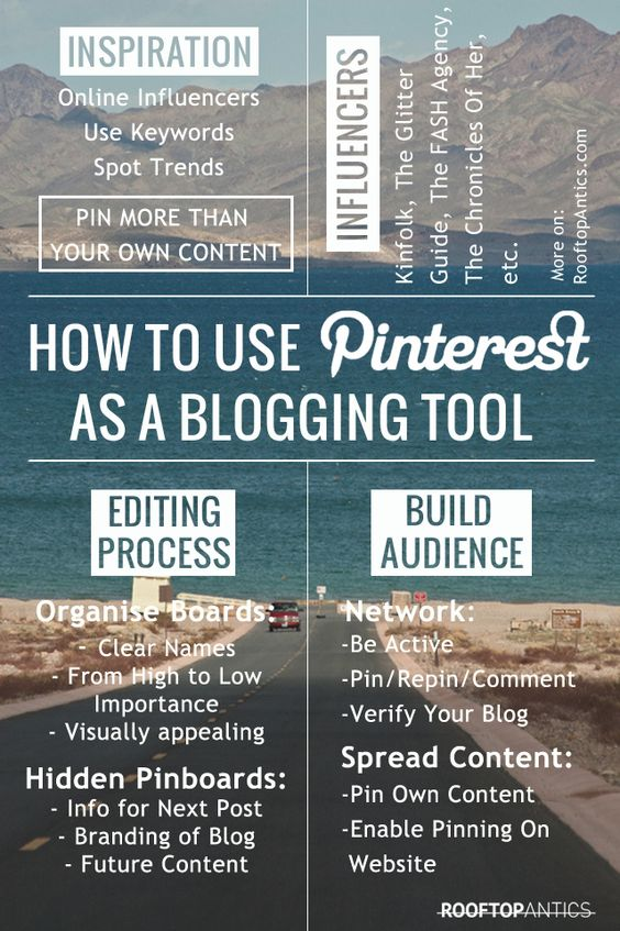 How to Use #Pinterest as a #Blogging Tool. #socialmedia