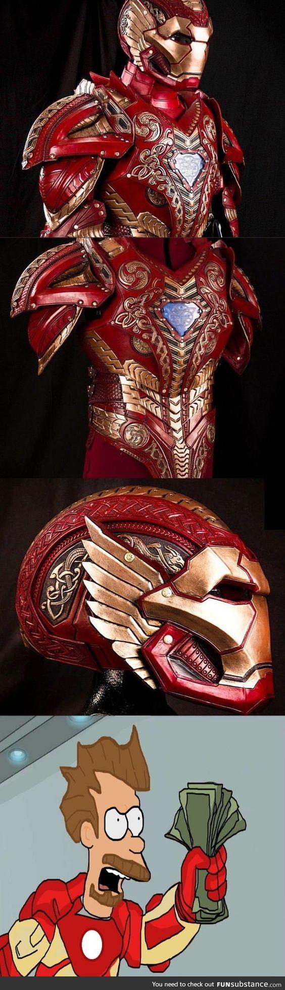 I need this  Asgardian Iron Man