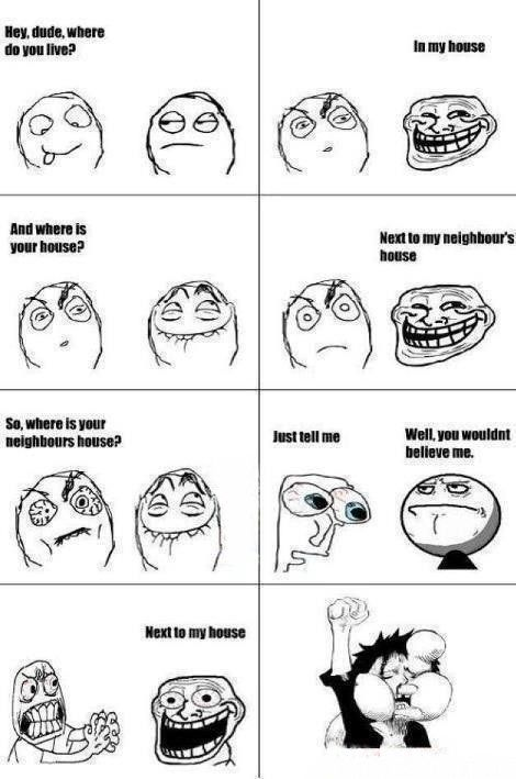 I Often Troll My Friend Like This. - Posted in Funny, Troll comics and LOL Images - Entertain Club