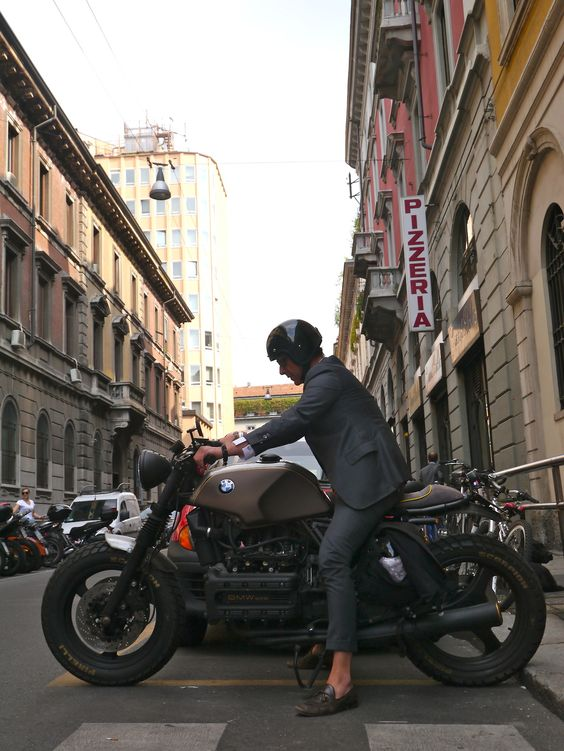 I think I want a motorcycle.