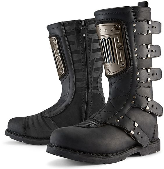 ICON 1000 Elsinore HP Motorcycle Boots -