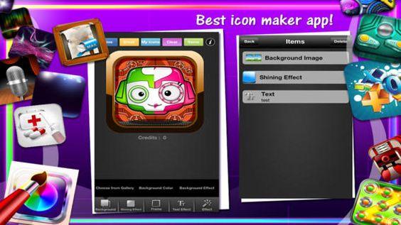 Icon Designer #iOS App by The App Guruz