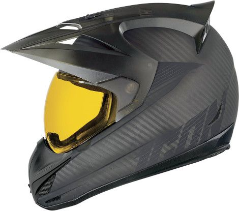 Icon Variant Ghost Carbon Dual Sport Motorcycle Helmets