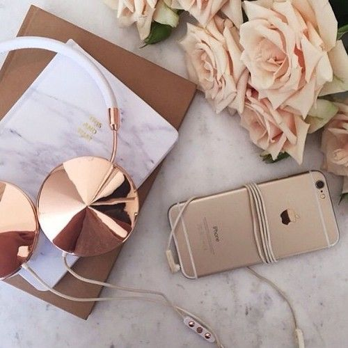 I'm seriously IN LOVE with rose gold! ♥