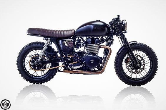 In June of last year Bonnefication ran an exclusive revealing the story behind the Triumph Bonneville T100 riden in David Beckham's hit BBC documentary Into the Unknown