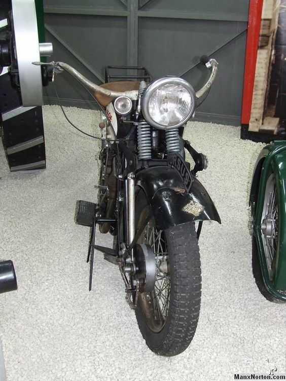 in old fashion. This is one of our beauttiest motorcycle in history of Poland