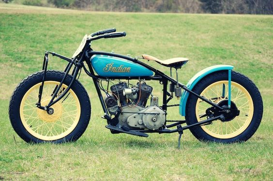 Indian 101 Scout restored by Buck's Indian Motorcycles in West Virginia