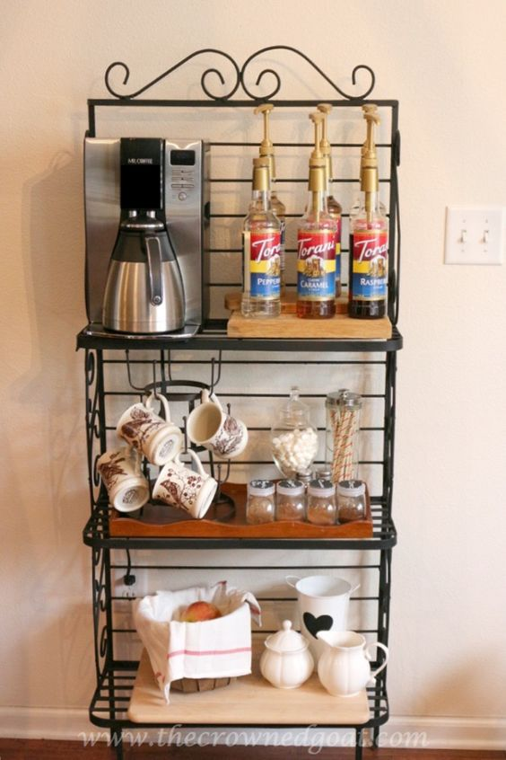 Indoor Coffee Station