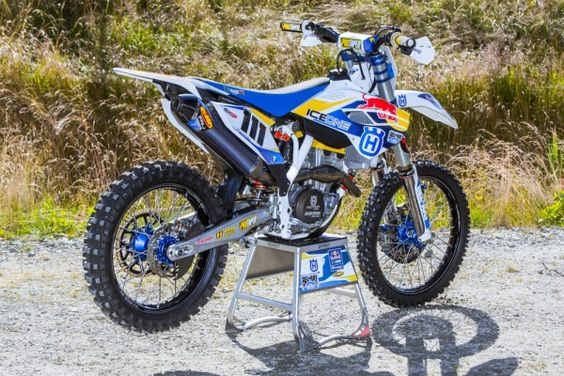 Inside Look - Ice One Factory Husqvarna FC350 | Transworld Motocross
