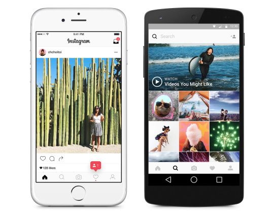 Instagram gets a redesigned app and colorful icon on Android and iOS