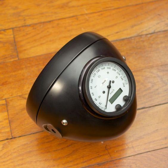 Integrated Speedometer/Headlight Bucket
