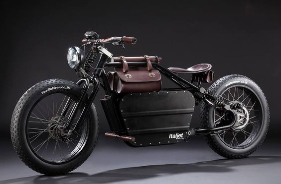 ItalJet electric bike #motorcycles #bobber #motos |