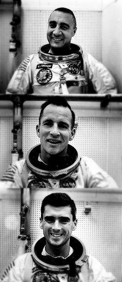Jan. 27, 1967. A flash fire aboard the spacecraft Apollo I kills astronauts Virgil