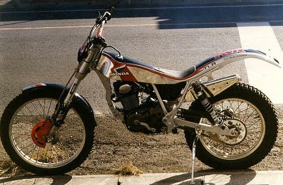 Japanese Radical Tlr - Honda - Trials Central