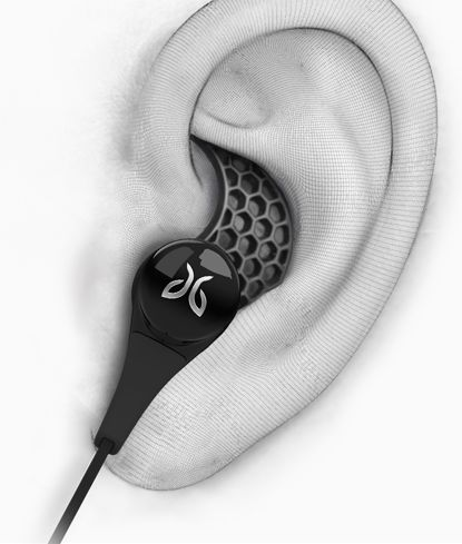 Jaybird's Bluebird X Bluetooth Stereo Sports Headphones - premium Bluetooth audio, 8 hours playtime micro-battery, ultra comfortable secure fit, over/under ear options, audio device anywhere on your body, voice prompts and sweat-proof