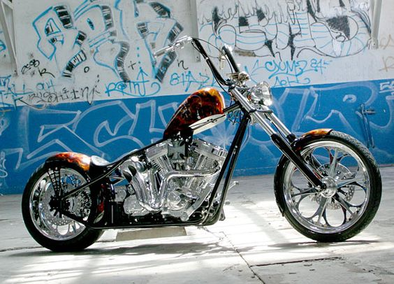 Jesse James West Coast Choppers bike