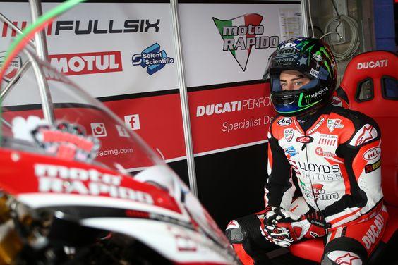 John Hopkins confirmed as permanent rider for Lloyds British Moto Rapido Ducati team -