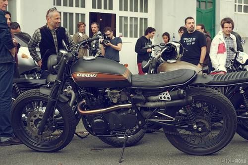 Kawasaki cafe racer.  this one is my favorite