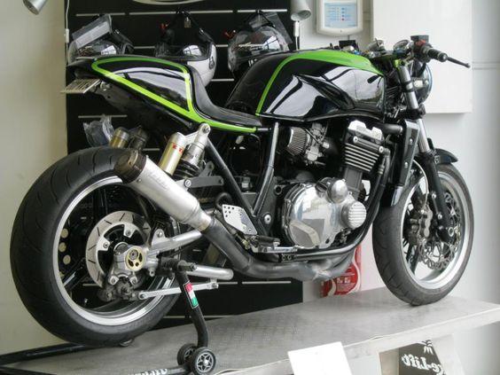 kawasaki zrx1200 cafe racer - Google Search