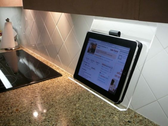 Keeping the ipad safe in the  is easily removed when not in use.  I MUST HAVE THIS!