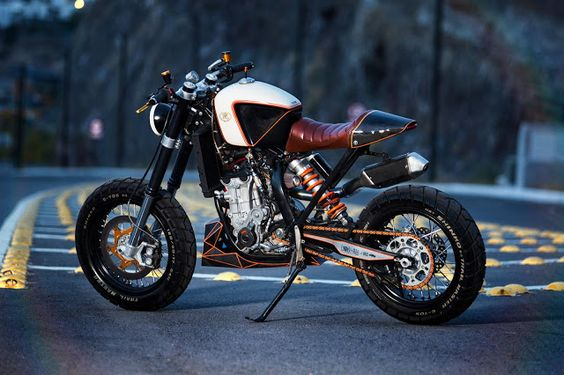 KTM 450 Street Tracker by Vitium Motorcycles  ...