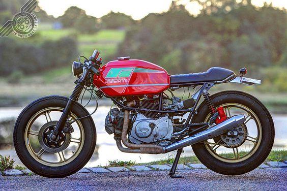 La Ducati Pantah 650