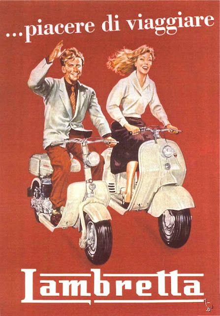 Lambretta - Fabulous 1960s Italian scooter fun!