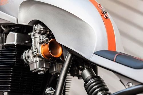 Laverda Cafe Racer by Custom Wolf 1