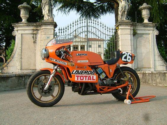 Laverda V6 1000cc - via Laverda Corse
