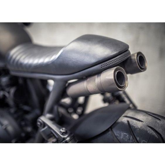 LEMON CUSTOM MOTORCYCLES — Triumph Ronin @shibuyagarage / banco sob